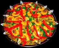 Таблица калорийности блюд испанской кухни