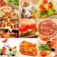 Таблица калорийности блюд итальянской кухни