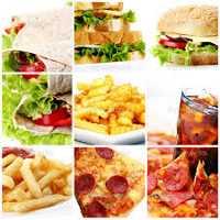 Таблица калорийности блюд фаст фуда