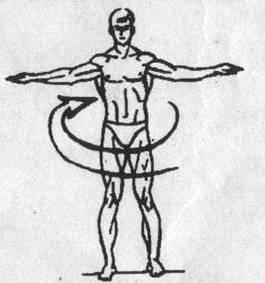 Пять тибетских жемчужин - упражнение 1